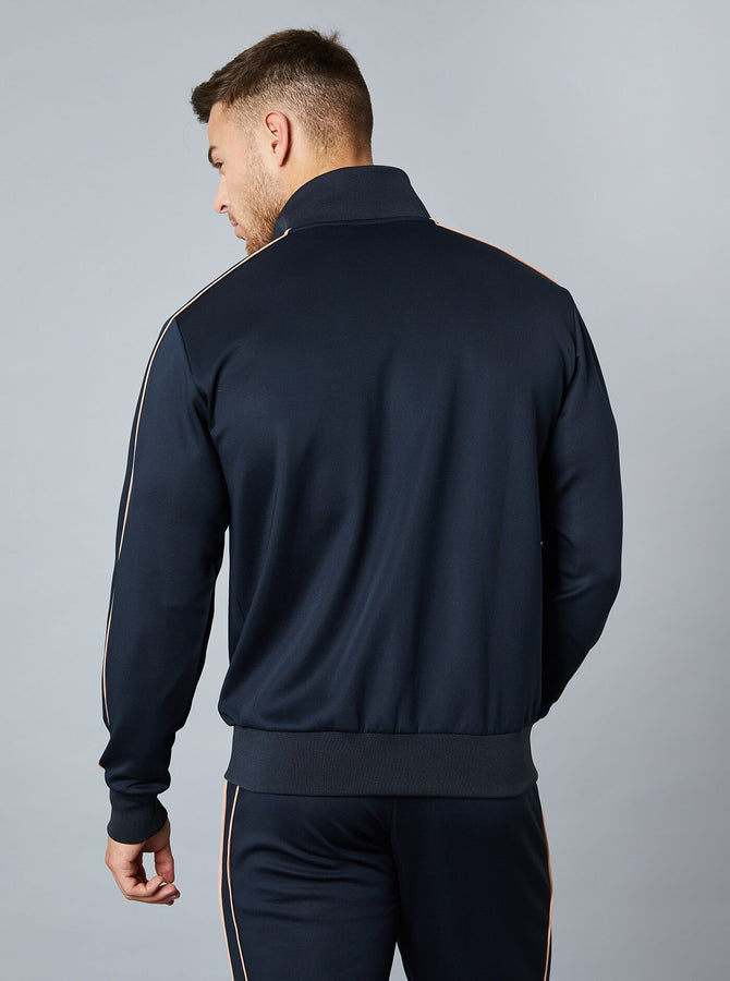 Yanai Mens Track Top Black