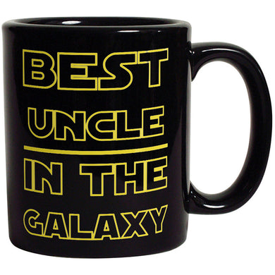 Best Uncle in The Galaxy Coffee Mug