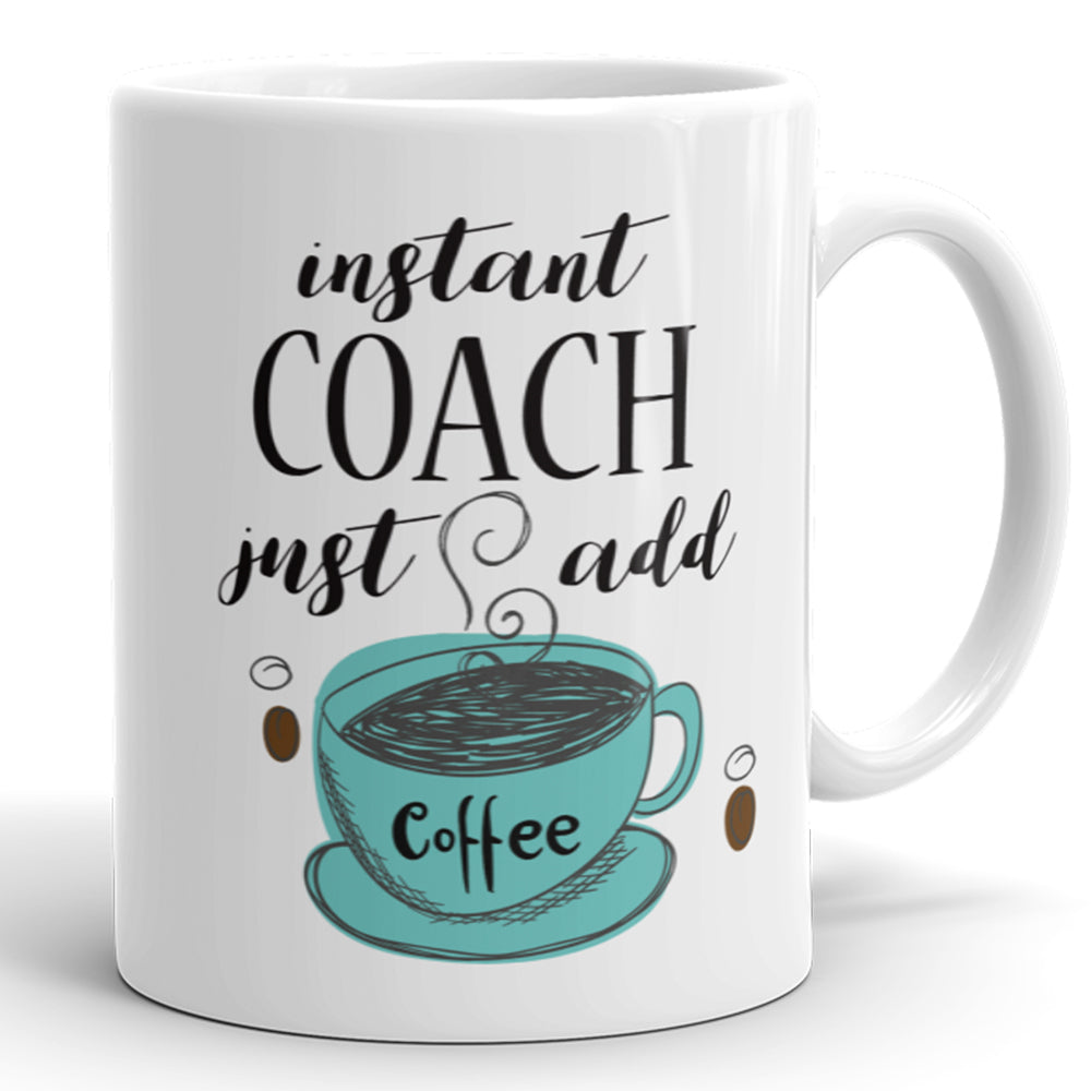 Instant Coach, Just Add Coffee
