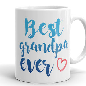 Best Grandpa Ever Coffee Mug