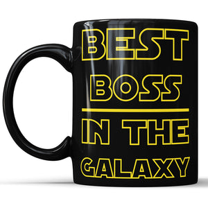Best Boss in The Galaxy Coffee Mug