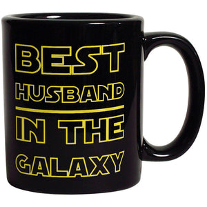 Best Husband in The Galaxy - Funny Coffee Mug For Husband