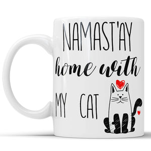 Namast'ay Home With My Cat
