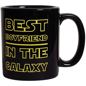 Best Boyfriend in The Galaxy - Funny Coffee Mug For Boyfriend