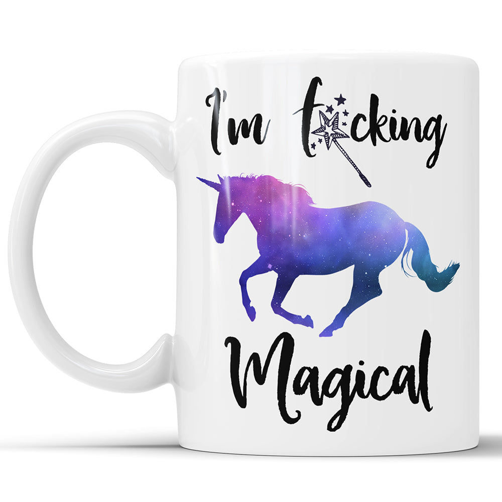 I'm F*cking Magical - Funny Unicorn Mug