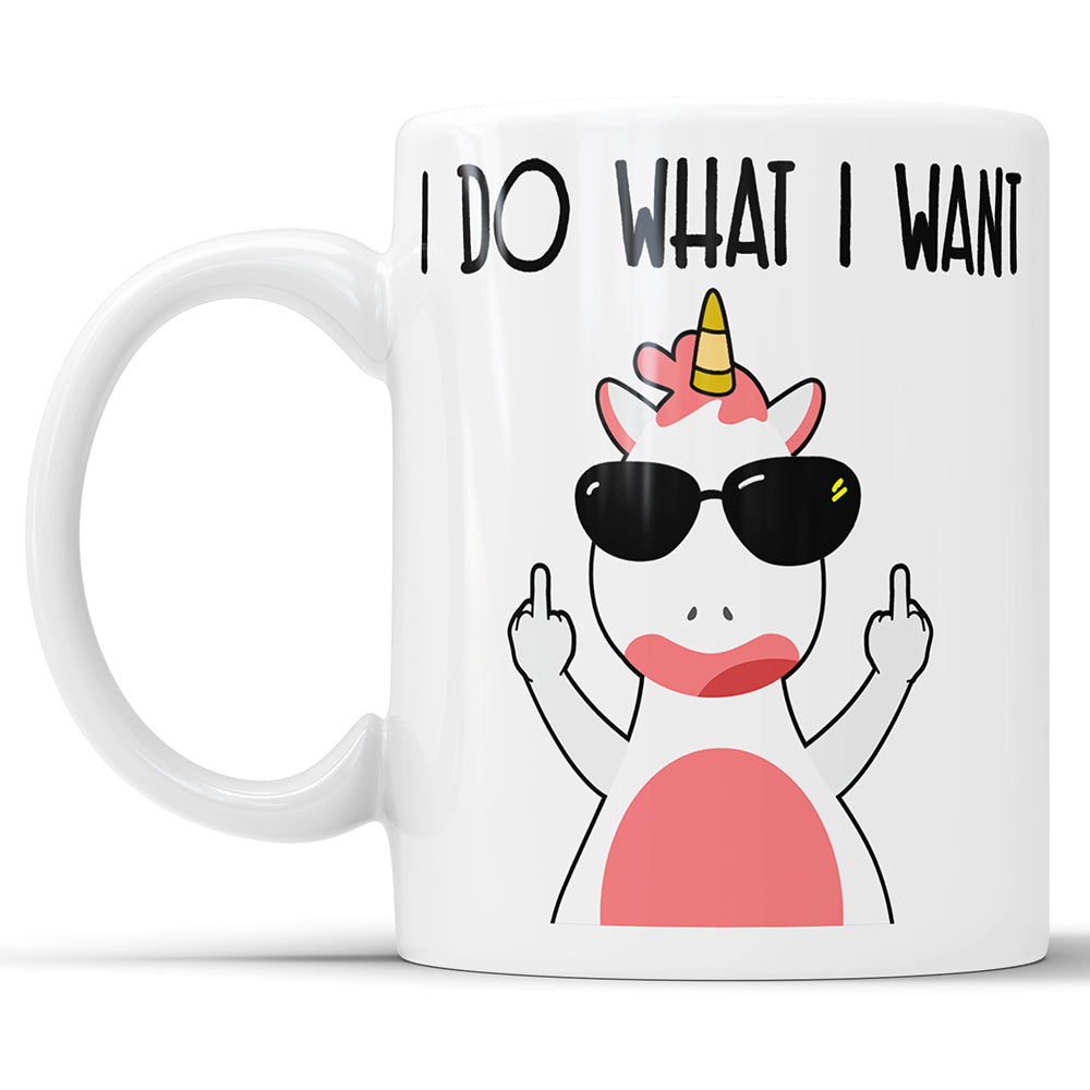 I Do What I Want - Middle Finger Unicorn