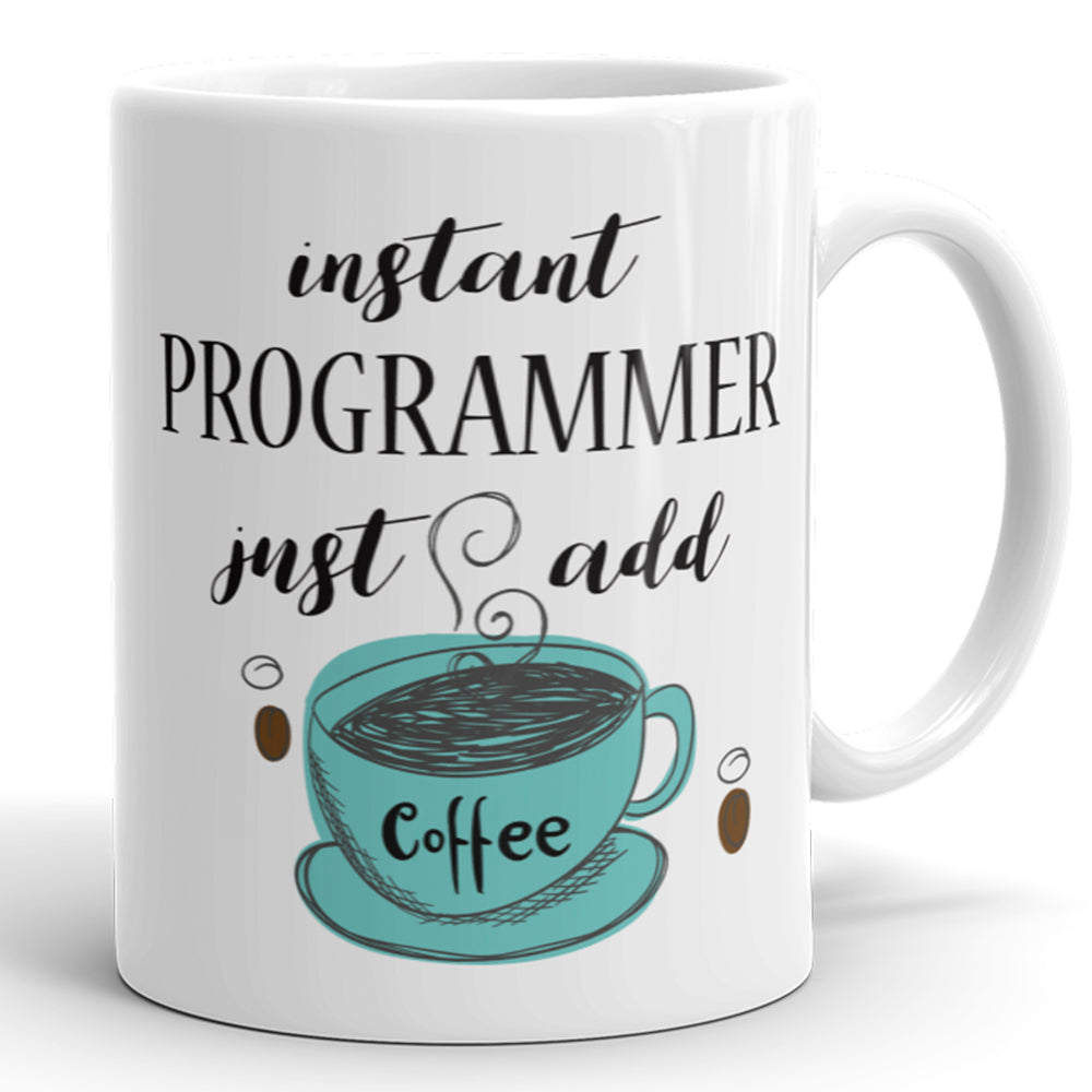 Instant Programmer, Just Add Coffee