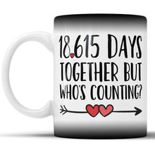 Anniversary Color Changing Coffee Mug