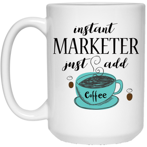 Instant Marketer 15 oz. White Mug