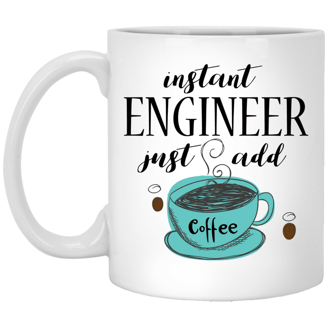 Instant Engineer 11 oz. White Mug