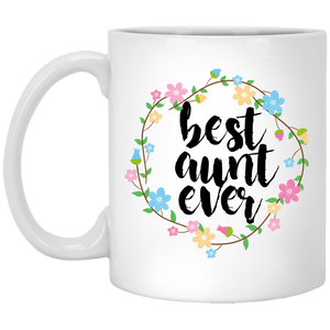 Best Aunt Ever 11 oz. White Mug