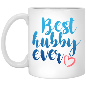 Best Hubby Ever 11 oz. White Mug
