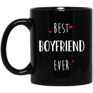 Best Boyfriend Ever 11 oz. Black Mug