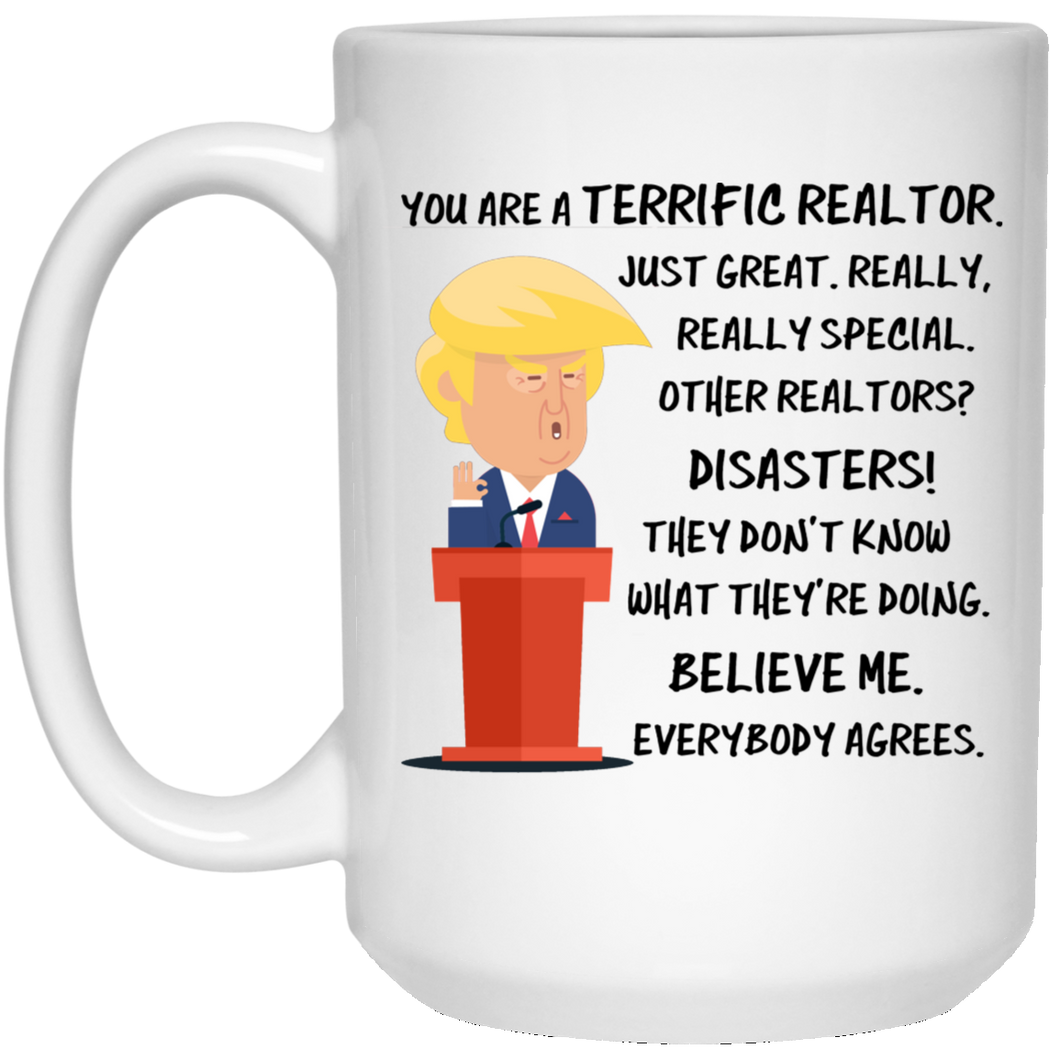 Trump Mug Realtor 15 oz. White Mug