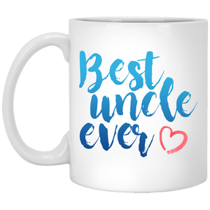 Best Uncle Ever 11 oz. White Mug