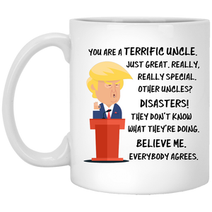 Trump Mug Uncle 11 oz. White Mug