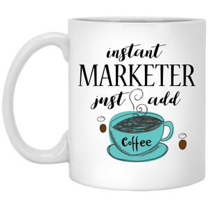 Instant Marketer 11 oz. White Mug