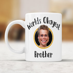 Custom Caricature World's Okayest ... Mug