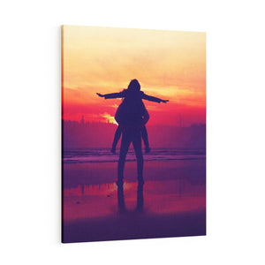 3-Piece Wall Art - Custom Split Panel Photo Canvas Prints