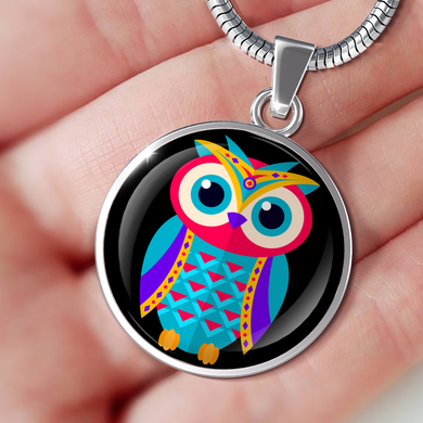 Cute Owl Luxury Necklace