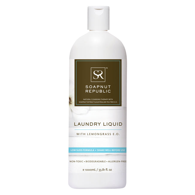 Soapnut Republic Laundry Liquid - Lemongrass Essential Oil