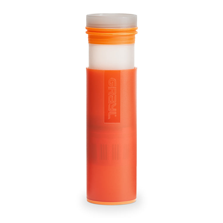 0c27210962 GRAYL Ultralight Purifier Bottle - Orange | Waterlinks Hong Kong