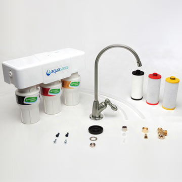 Aquasana AQ-5300 3-Stage Claryum Under Counter Water Filter