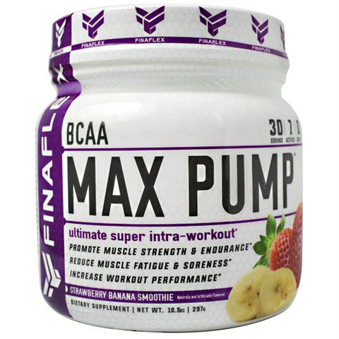 Bcaa Max Pump Straw Banana 30-
