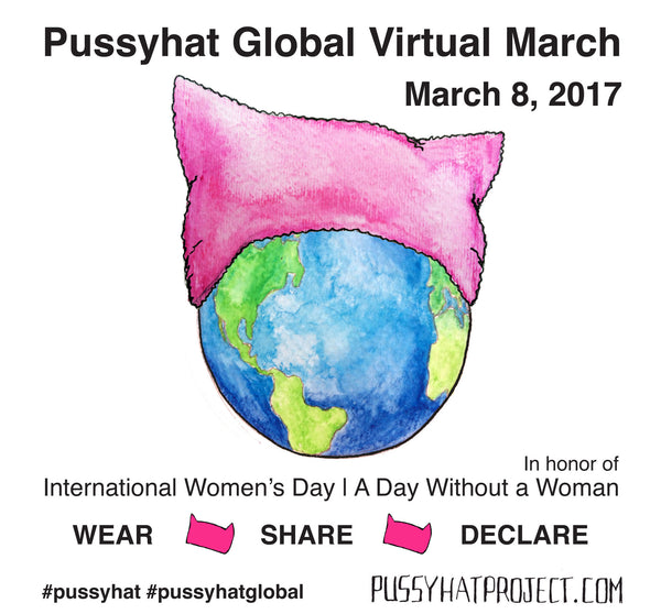 Pussyhat Global Virtual March