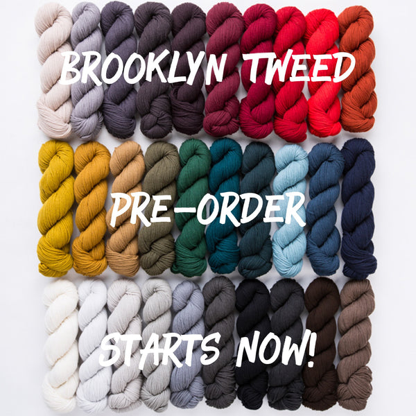 Brooklyn Tweed is coming!