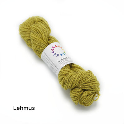 Aurinkokehrä - Plant-dyed Wool - Sock Yarn