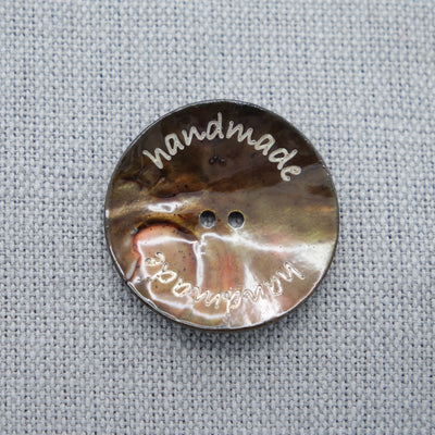 "Aara - ""Handmade"" button large"
