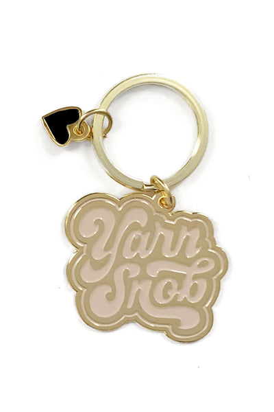 Shelli Can - Yarn Snob - Keychain