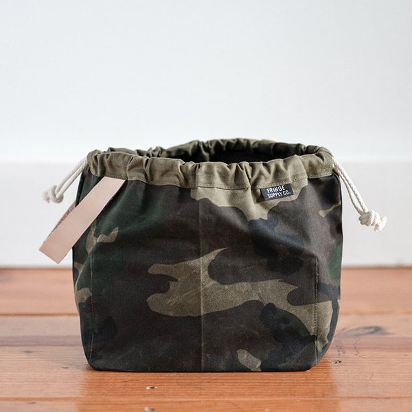 Fringe Supply Co. - Waxed Canvas Field Bag