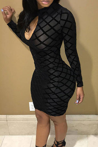 Modishshe Sexy Bodycon Club Dress