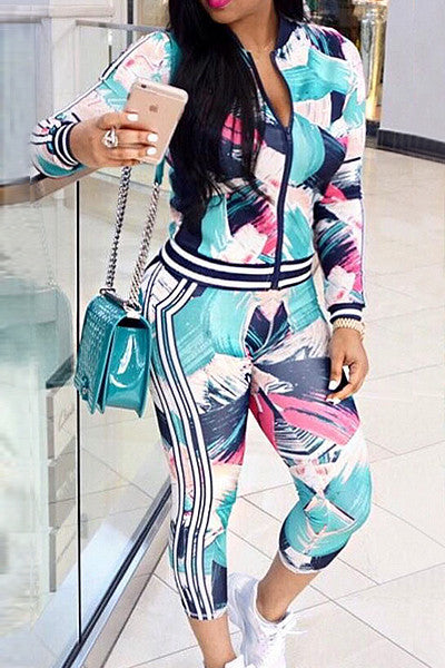 Modishshe Fashion Women Sportswear Two Pieces