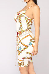 Modishshe Bodycon Strap Digital Print Jumpsuits