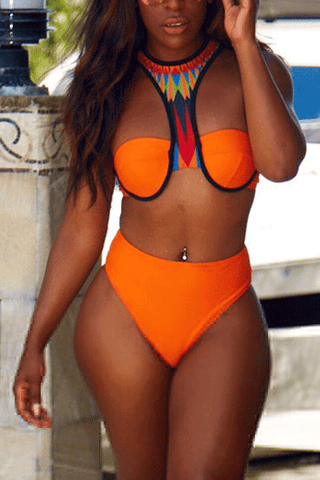 Modishshe Padded Two-piece Bikini