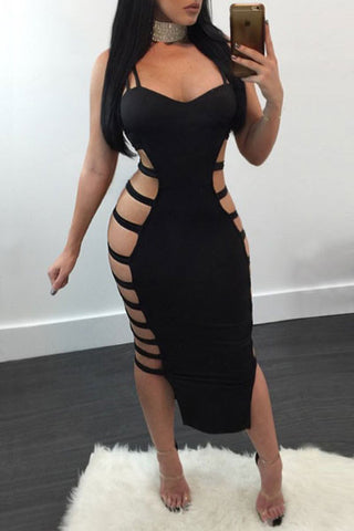Modishshe Sexy Strappy Party Dress