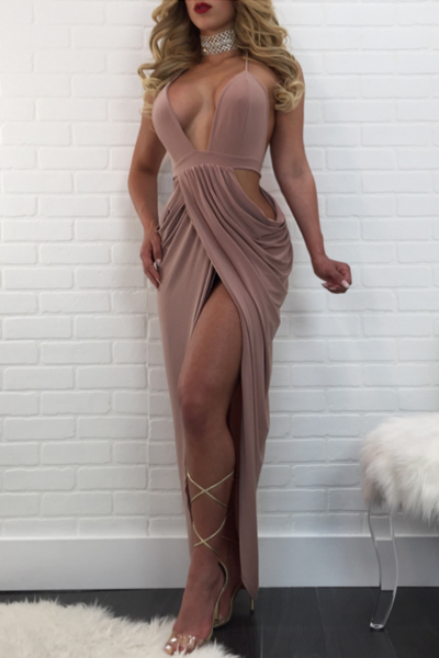 Modishshe Sheer Mesh Sexy Party Dress