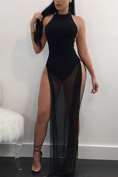 Modishshe Sleeveless Sexy Club Dress