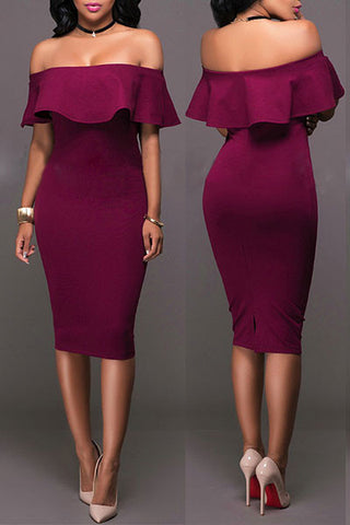 Modishshe Stylish Women Bodycon Dress