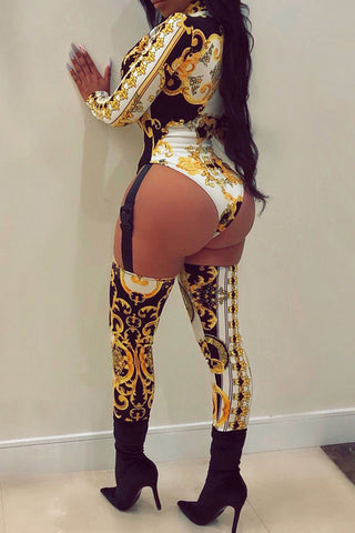 Modishshe Long Sleeve Regular Jumpsuit