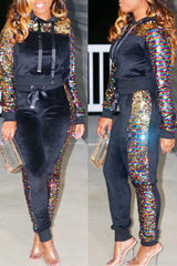 Modishshe Sequin Two Pieces