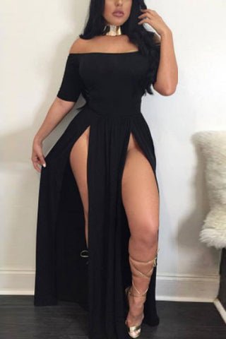 Modishshe Off-shoulder Sexy Party Dress