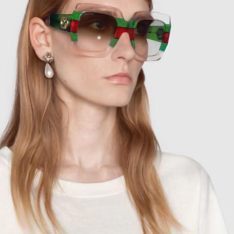 Modishshe Semi-transparent Framed Sunglasses