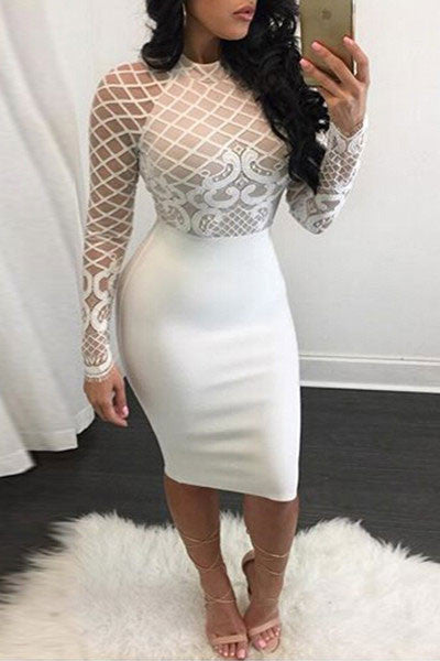 Modishshe Stylish Midi Length Bodycon Dress