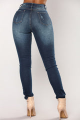 Modishshe Stylish Skinny Pencil Jeans