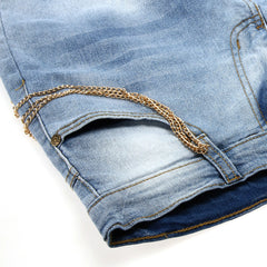 Modishshe Stylish Ripped Denim Jeans