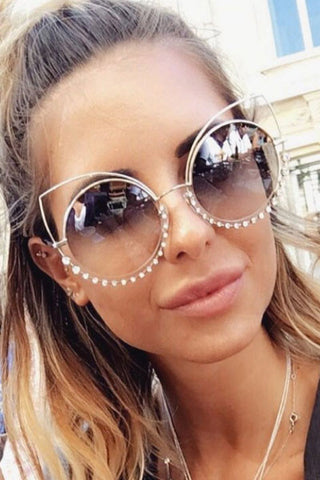 Modishshe Fashion Cat-Eye Sunglasses
